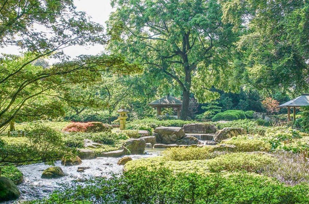 Augsburg Botanischer Garten - Camping Ludwigshof am See