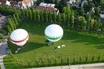Ballonfahrten Augsburg- Aktivurlaub - Camping Ludwigshof am See